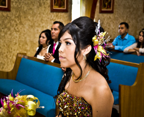 Quinceñera Mass Photography