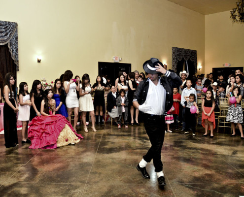 Quinceañera Photography Los Cadetes de Dallas Dream Team at Fiesta Gardens